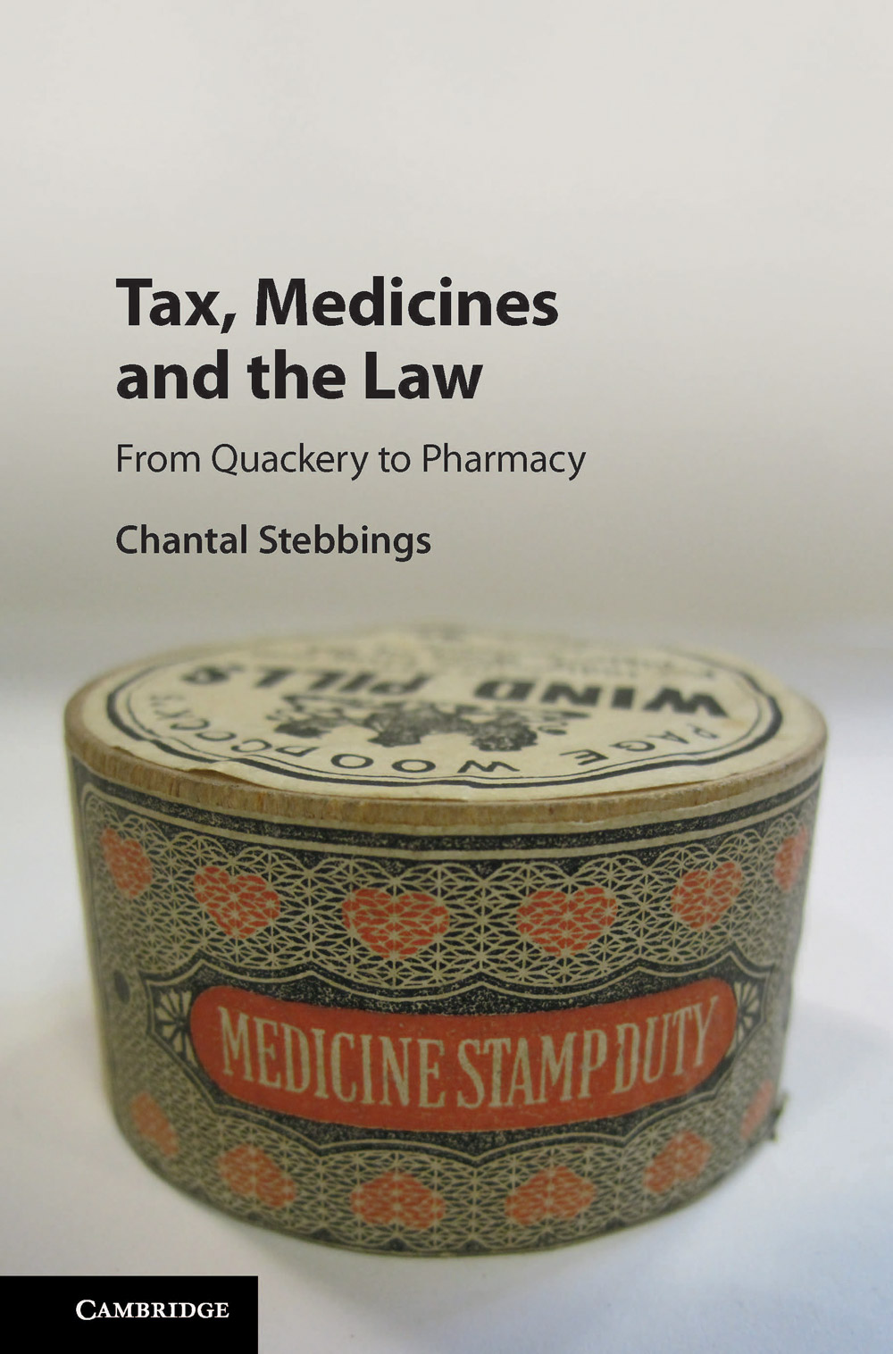 <a href='https://www.cambridge.org/core/books/tax-medicines-and-the-law/18B05CE8E21962B0EF1D7CF3220D5259'>Tax, Medicines and the Law</a> (2017)<br /><a href='http://socialsciences.exeter.ac.uk/law/staff/stebbings/'>Chantal Stebbings</a>