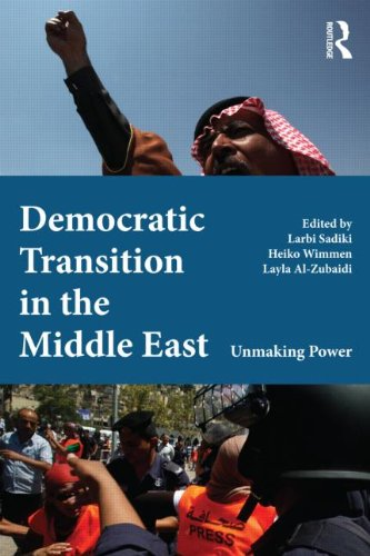 Democratic Transition in the Middle East Unmaking Power (2012)<br /><a href='http://socialsciences.exeter.ac.uk/politics/staff/sadiki/'>Dr Larbi Sadiki</a>