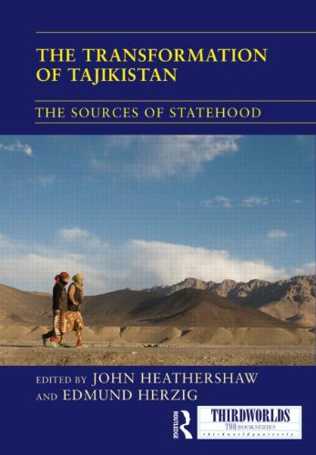 The Transformation of Tajikistan - The Sources of Statehood (2012)<br /><a href='http://socialsciences.exeter.ac.uk/politics/staff/heathershaw/'>John Heathershaw</a>