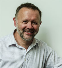 Photo of Professor Gareth Stansfield